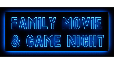 Family Movie and Game Night