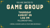 Game Group 1:30 pm